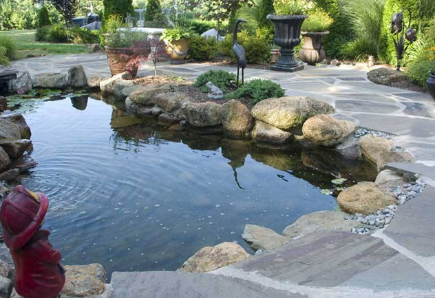 backyard ponds custom designs by landscaping designers in pasadena, md